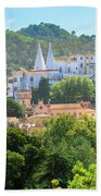 Sintra National Palace Aerial Beach Towel