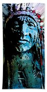 Sioux Chief Beach Towel