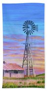 Sioux County Sunrise Beach Towel