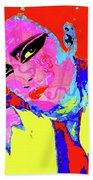 Siouxsie With Dragon Tattoo Beach Towel