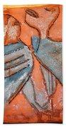 Sir - Tile Beach Towel