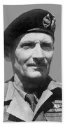 Sir Bernard Law Montgomery  Beach Towel