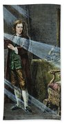 Sir Isaac Newton Beach Towel