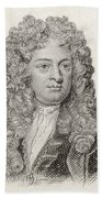 Sir John Vanbrugh, 1664 To 1726 Beach Towel