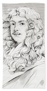 Sir Peter Lely, 1618 Beach Towel