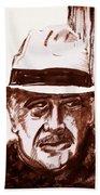 Sir Sean Connery Beach Towel