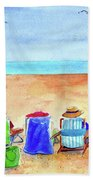 Six Beach Amigos Beach Towel