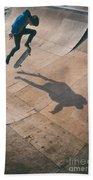 Skater Boy 001 Beach Towel