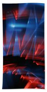 Skc 0271 Color Abstract  Beach Towel