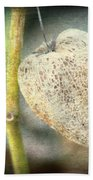 Skeleton Physalis Beach Towel