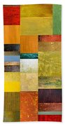 Skinny Color Study L Beach Towel by Michelle Calkins