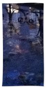 Skirting Cold Water Beach Towel
