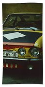Skoda 110r Coupe Beach Towel