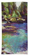 Skokomish River Beach Towel