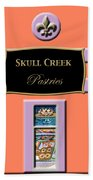Skull Creek Pastries Beach Towel