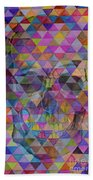 Skull Triangle Beach Towel