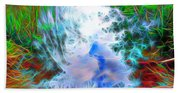 Sky Above Young Vision Below Beach Towel