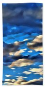 Sky And Clouds Beach Towel