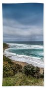Sky Blue Coast Beach Towel