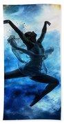 Sky Dancer 1 Beach Towel