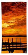 Sky Drama Beach Towel
