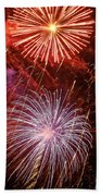 Sky Explosion Beach Towel by Phill Doherty