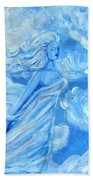 Sky Goddess Beach Towel