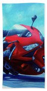 Sky Pilot - Honda Cbr600 Beach Towel