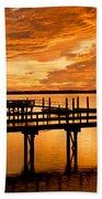 Sky Turmoil Beach Towel