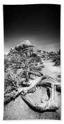 Skyline Arch In Arches National Park Beach Sheet