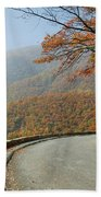 Skyline Drive I Beach Towel