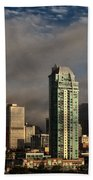 Skyline Fog Beach Towel