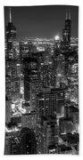 Skyscrapers Of Chicago Beach Towel