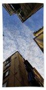 Skyward In Naples Italy - Spanish Quarters Take Three Beach Towel