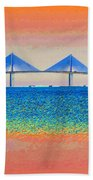 Skyway Morning Beach Towel