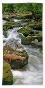 Slate Creek, Nez Perce National Forest, Idaho Beach Towel