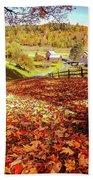 Sleepy Hollow - Pomfret Vermont-1 Beach Towel