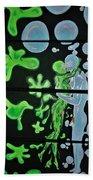 Slime Bubble Couple Beach Towel