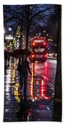 Sloane Street Square Beach Towel