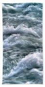Slow Motion Rapids Beach Towel