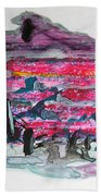 Small Landscape48 Beach Towel
