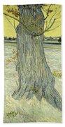 Small Pear Tree In Blossom Arles, April 1888 Vincent Van Gogh 1853  1890 Beach Towel