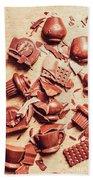 Smashing Chocolate Fondue Party Beach Towel