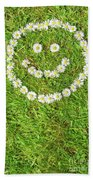 Smiley Beach Towel