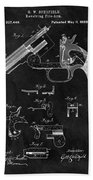 Smith And Wesson Model 3 Patent Beach Towel