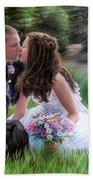 Smith Wedding Portrait Beach Towel