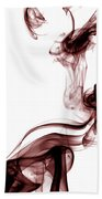 Smoke Photography - Red Beach Towel