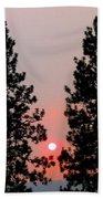 Smokey Okanagan Sunset Beach Sheet