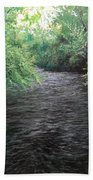 Smokey River Beach Towel
