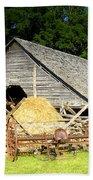 Smoky Mountain Farm Beach Towel